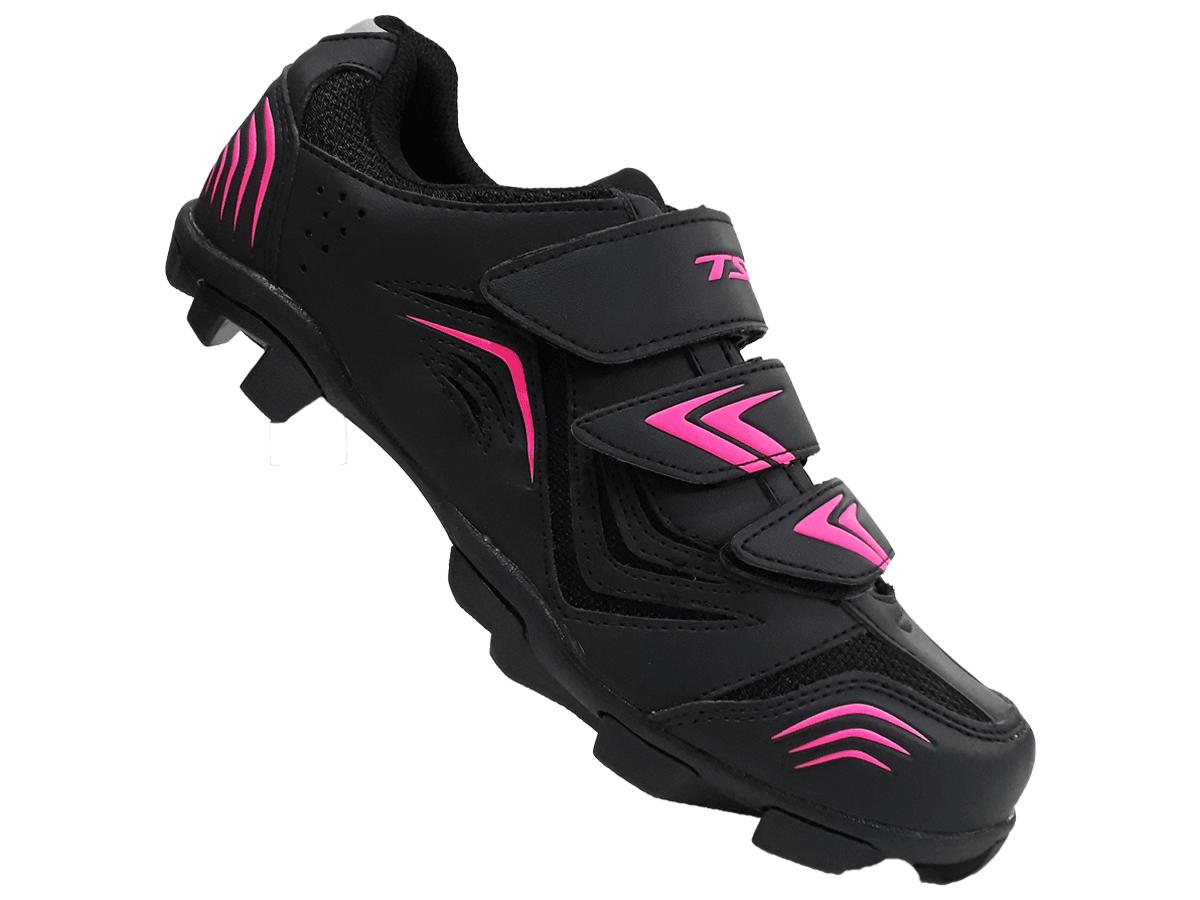 Sapatilha Mtb Ciclismo Tsw New Fit Feminina + Pedal Shimano M520
