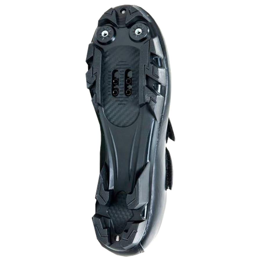 Sapatilha Mtb Ciclismo Absolute Nero II Preta + Pedal Wellgo M919