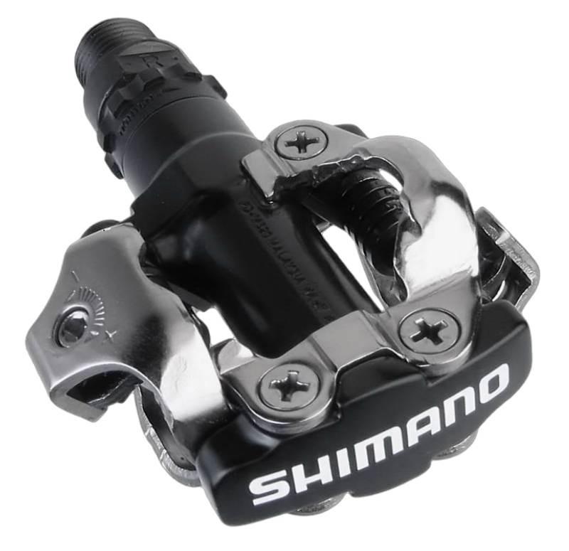 Sapatilha Mtb Ciclismo High One Cobok Vermelha + Pedal Shimano M520