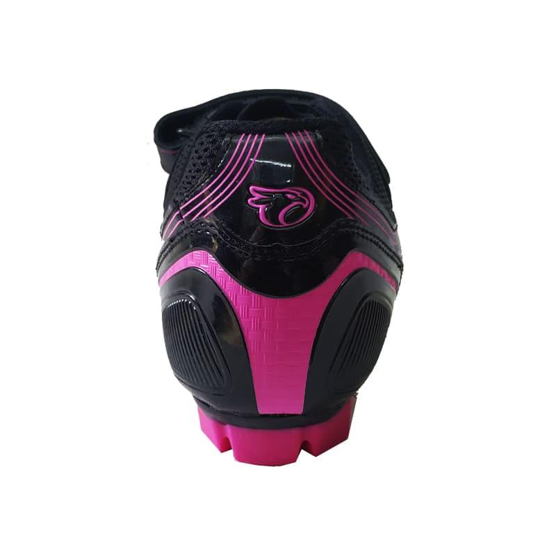Sapatilha Mtb Ciclismo Jet Guardian Feminina Rosa + Pedal Shimano M520