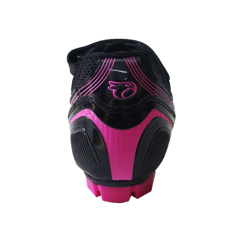Sapatilha Mtb Ciclismo Jet Guardian Feminina Rosa + Pedal Wellgo M919