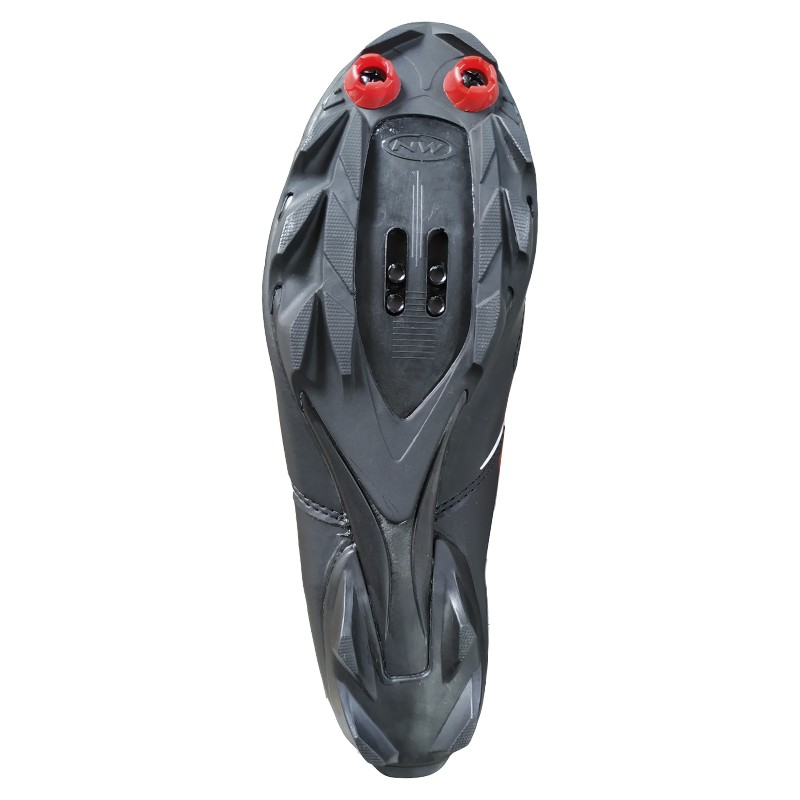 Sapatilha Mtb Ciclismo Northwave Spike Evo Preta + Pedal Wellgo M919
