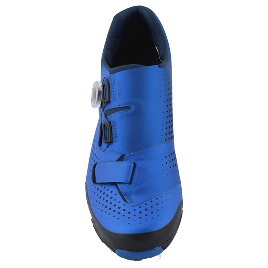 Sapatilha Mtb Ciclismo Shimano Xc501 Azul + Tacos Shimano SH51