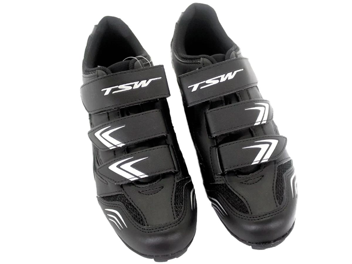 Sapatilha Mtb Ciclismo Tsw New Fit + Tacos Shimano Sh51