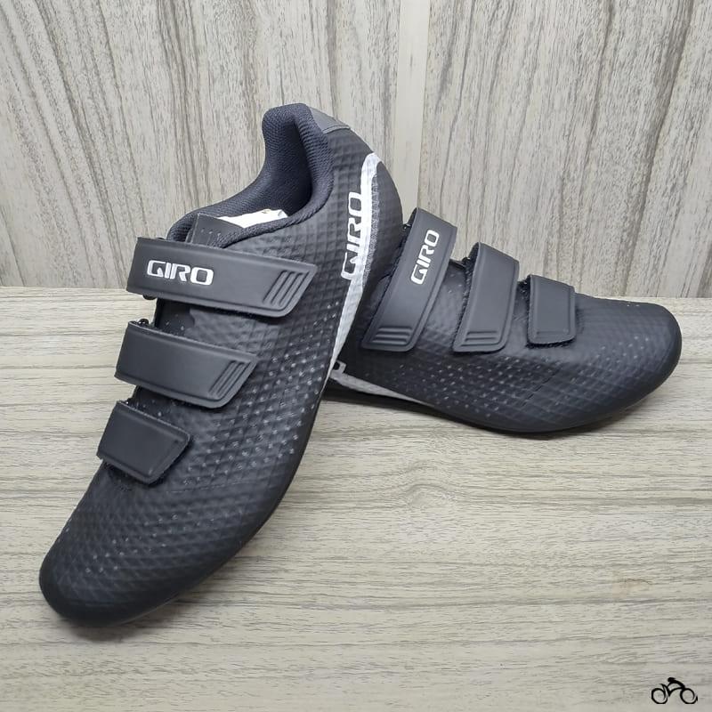 Sapatilha Speed Ciclismo Giro Stylus Preta + Pedal Shimano RS500