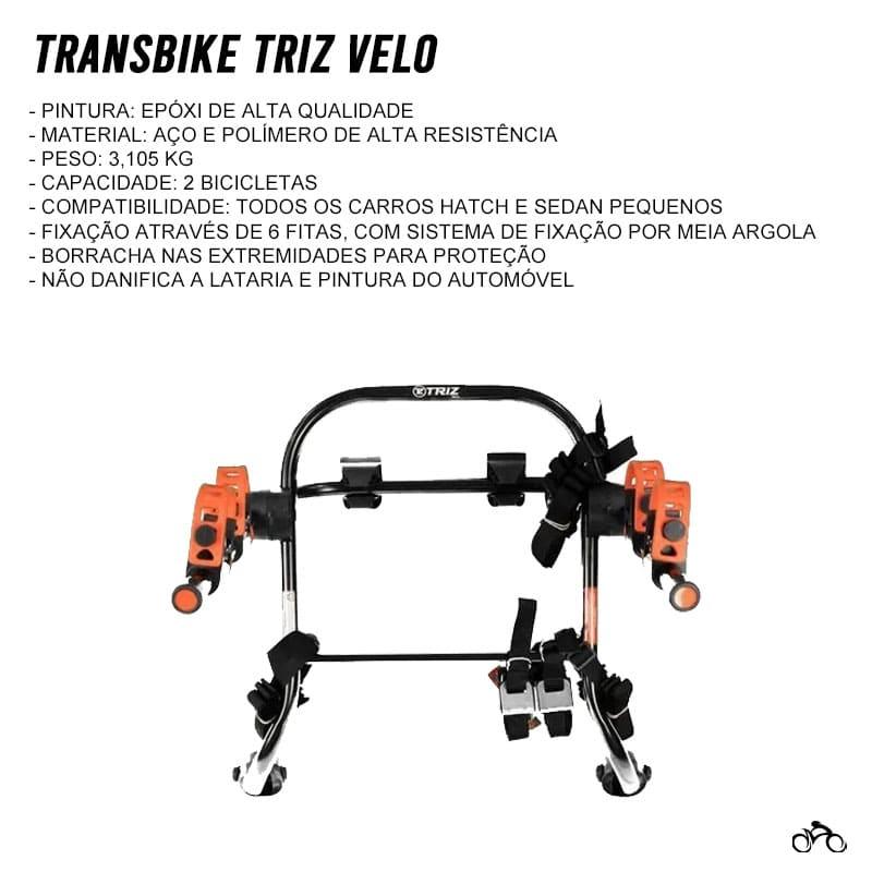 Suporte Transbike Universal 2 Bicicletas Mtb Speed