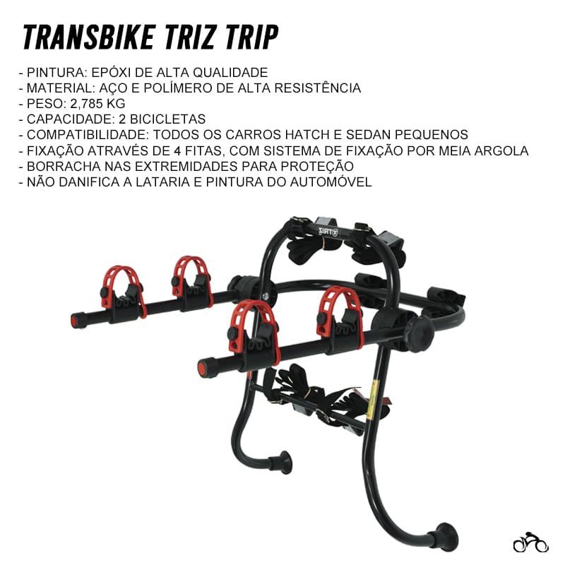 Suporte Transbike Universal Para 2 Bicicletas Mtb Speed