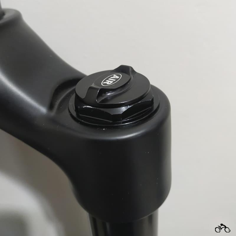 Suspensão de Bike Absolute Prime Sl 100mm Boost 15 mm Mtb Trava Guidão