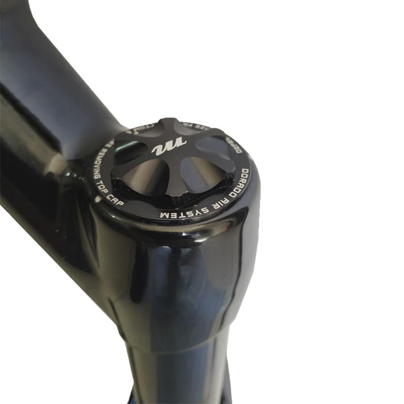 Suspensão de Bike Manitou R7 Expert Boost 15 mm Mtb Trava Guidão