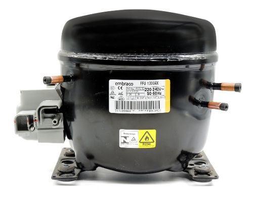 Motor de geladeira  Compressor Para Gás R-290 Ffu 130 Uax 220 Volts