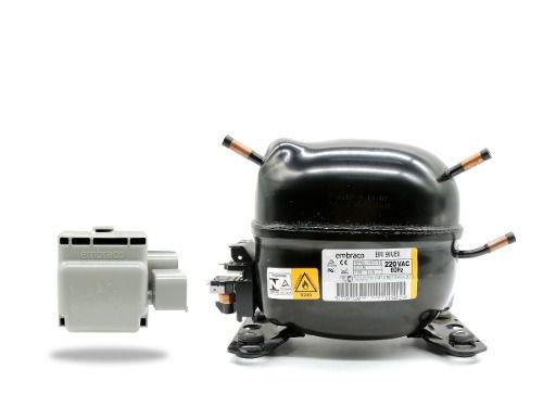 Motor Compressor cervejeira e freezer Para Gás R-290 Emi90 Uex 1/4+