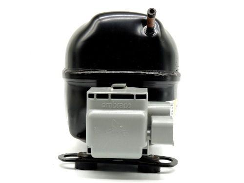 Motor de geladeira Compressor 1/5 Hp Para Gás R-290 Modelo Emi 70 Uer 127 ou 220 volts
