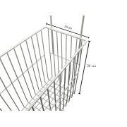 Kit 2 Cesto separador organizador picolé, poupas, carne universal