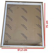 Tampa de vidro freezer metalfrio HT50 inferior 61,2 x 75  020128T207