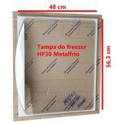 Tampa de vidro metal frio HF30 tanque inf.. 56,3 x 48 inf   090264M042