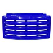 veneziana / carenagem/ roda pé/ saia metalfrio, cor azul escuro