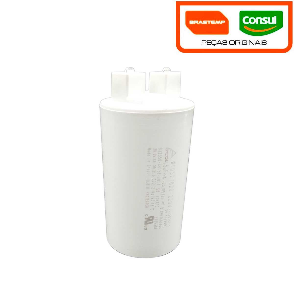Agrupador Capacitor Brastemp Consul 220V W10819784