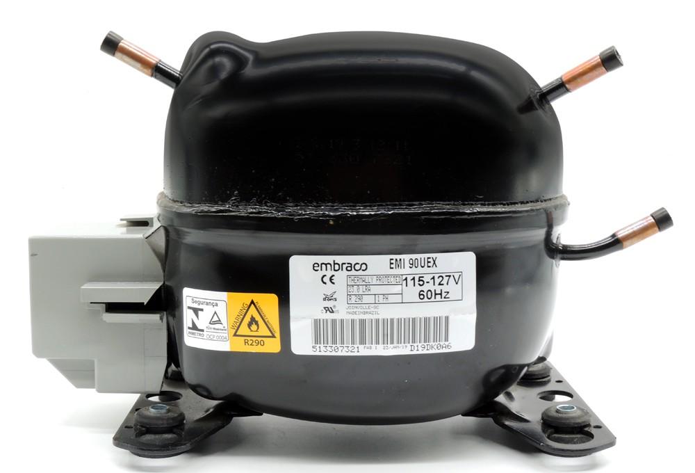 Compressor  Embraco EMI90UEX 127V 1/4+ R290 020213C006