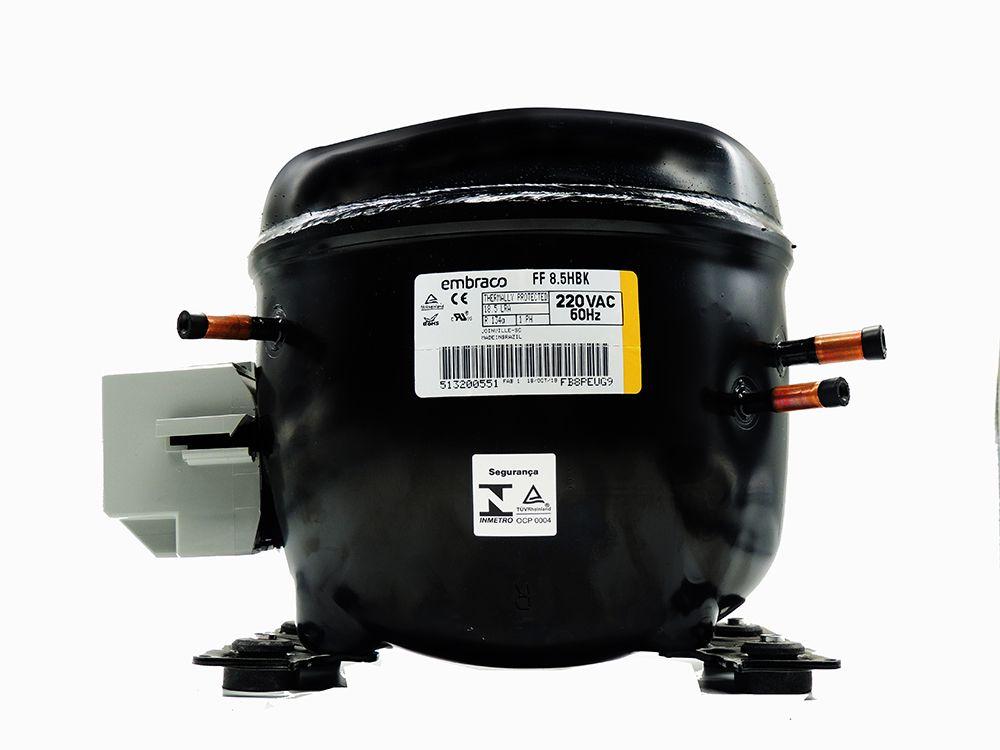 Compresssor embraco 1/4  FF8,5HBK 220V 020113C453