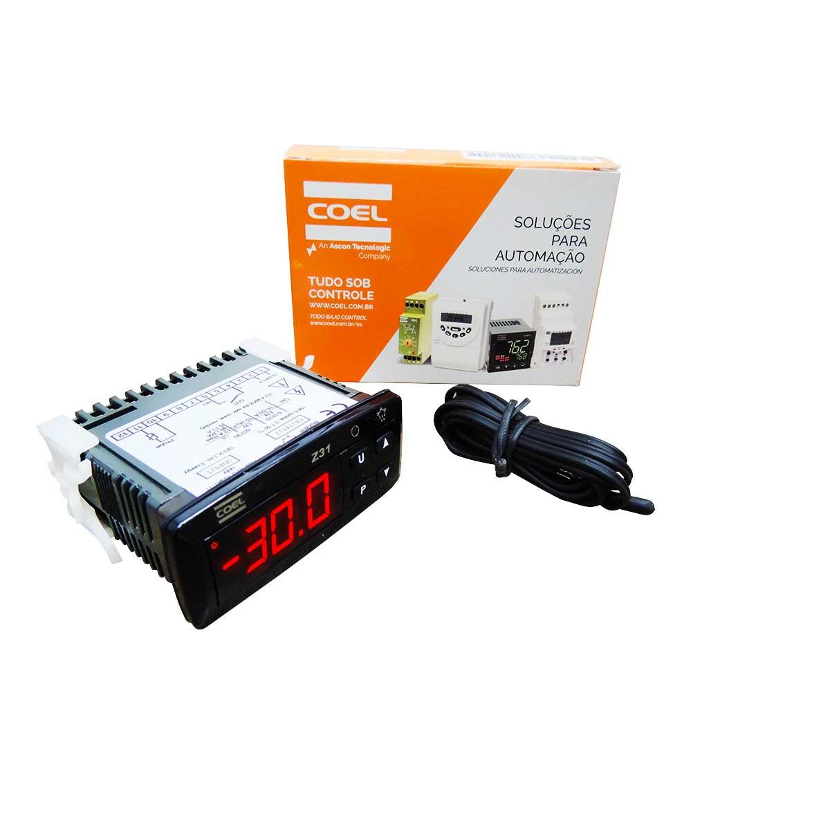 Controlador de temperatura Z31/ 12...24VCA/VCC c/degelo