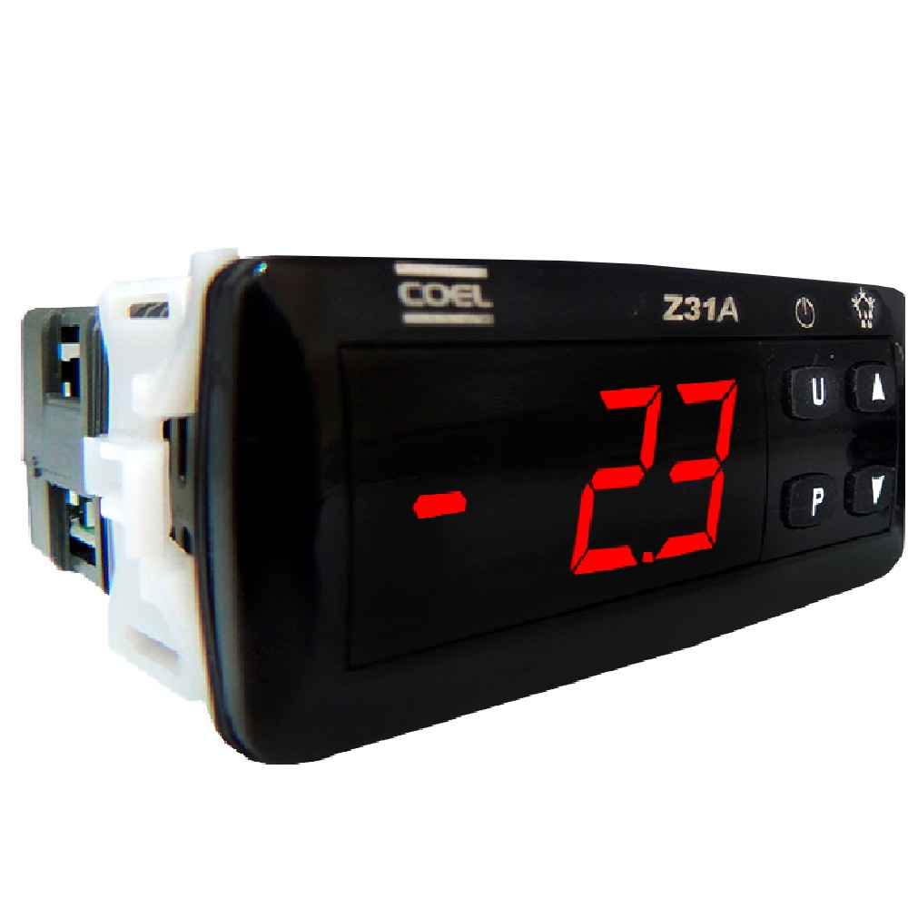 Controlador de temperatura Z31AGRB- ALIM. 12...24VCA/VCC com aquecimento e sem degelo