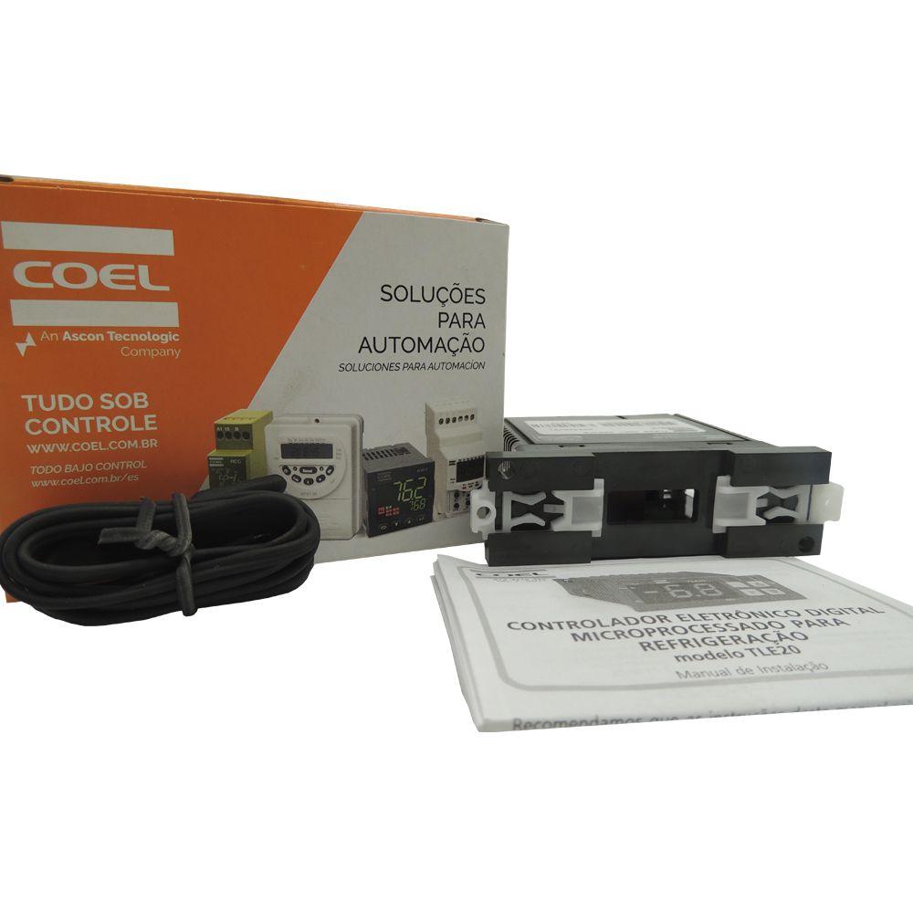 Controlador eletronico/taimer fim degelo coel c/sensor 020239c009