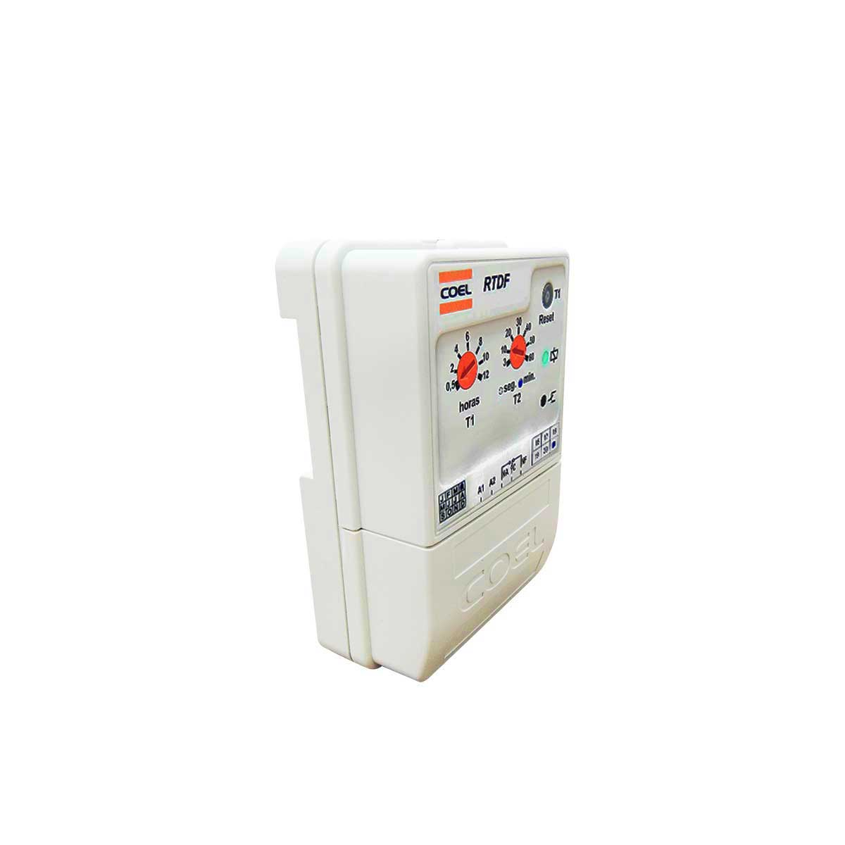 Controlador Temporizador Rele para Desgelo cíclico RTDF Coel 12H 60min 94 A 242VCA
