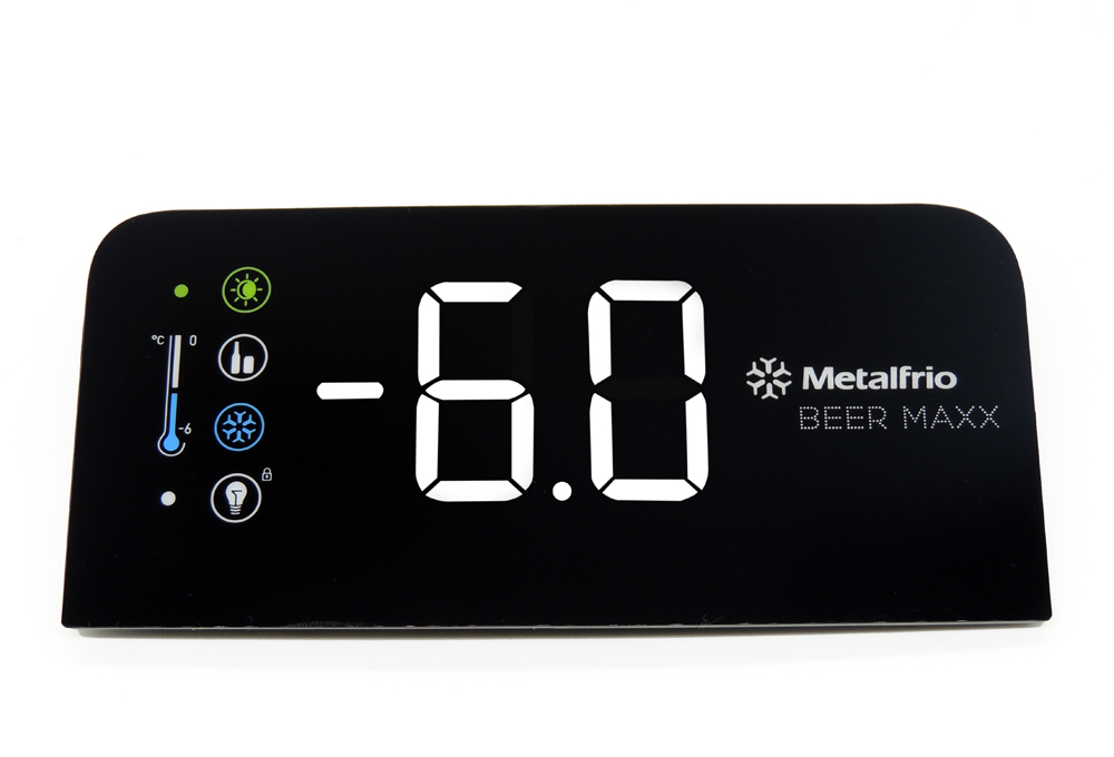 Display Controlador de temperatura cervejeira metalfrio Beer Max VN25/28T linha dometica cod. 020204C778