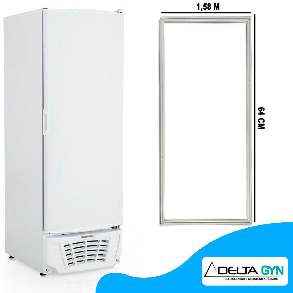 Gaxeta borracha freezer Gelopar  GTPC-575 medidas de 158 x 61 006598.03