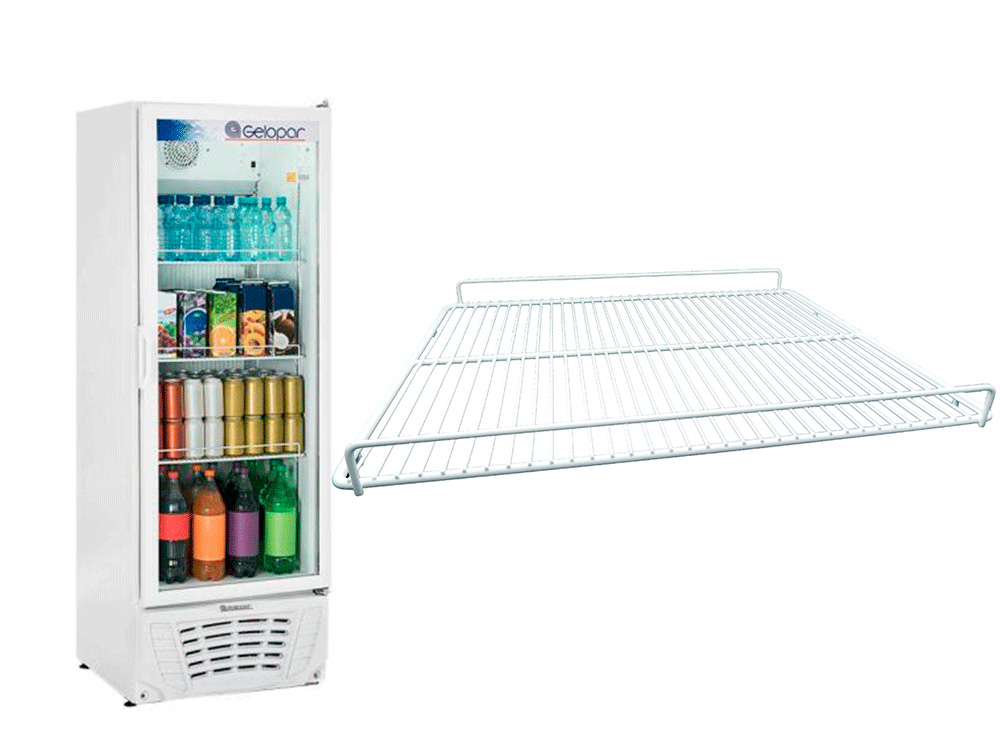 Grade prateleira refrigerador GPTU40 45 x 54  005147