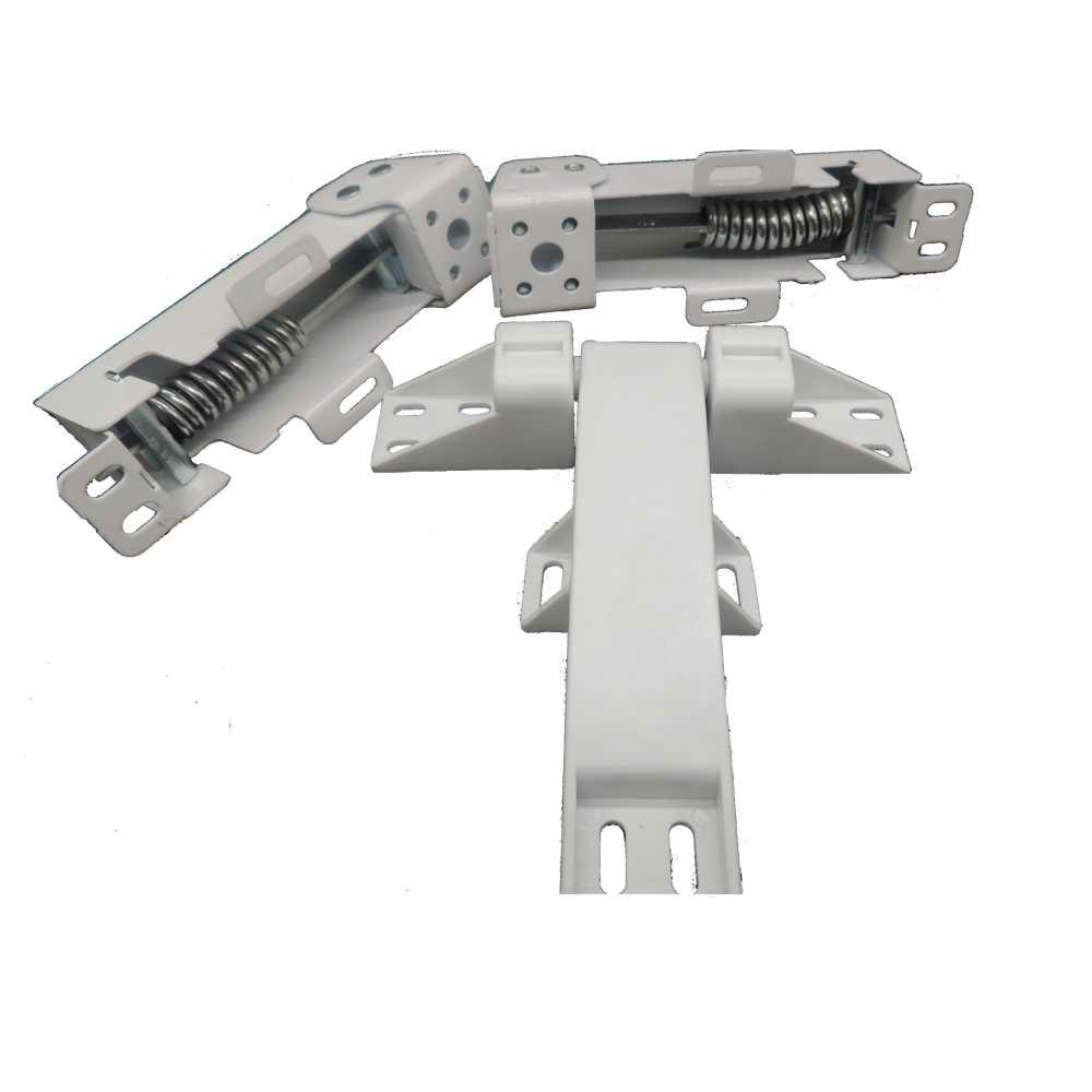 Kit 2 Dobradiça com mola + Dobradiça Central P/ Freezer Horizontal Metalfrio DA550 020239K019