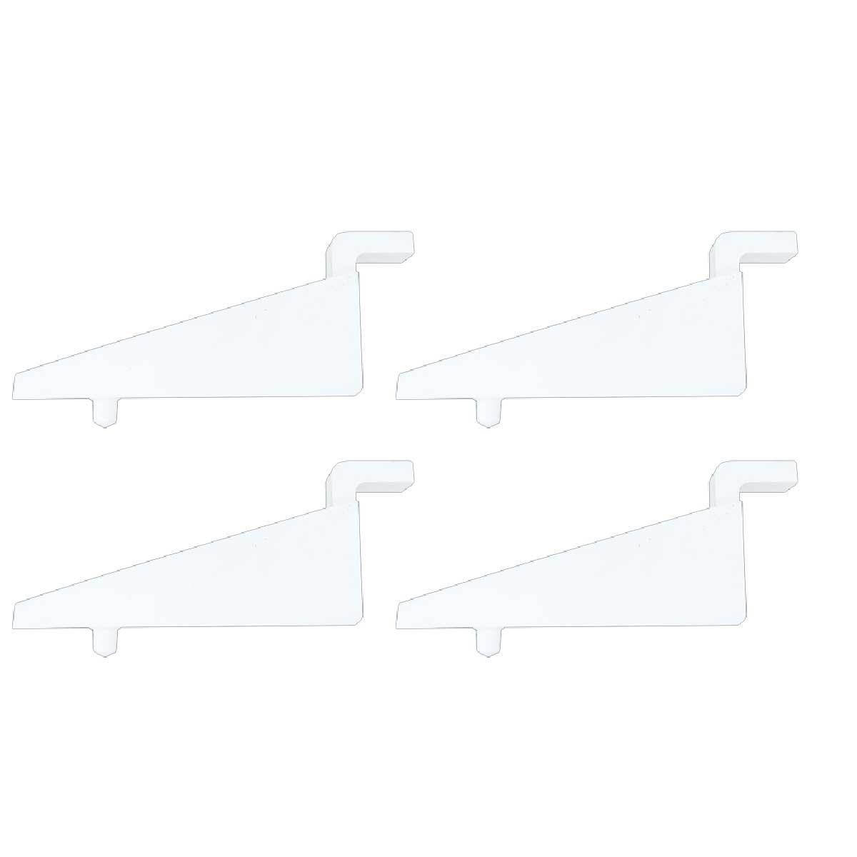 Kit 4 Suporte Plástico Para Veneziana MetalFrio 020105S100