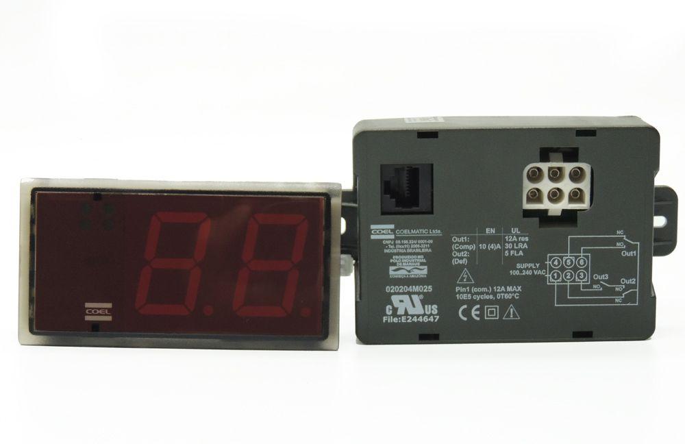 Kit Controlador Coel Para Cervejaira Metal Frio bivolt 020204K025