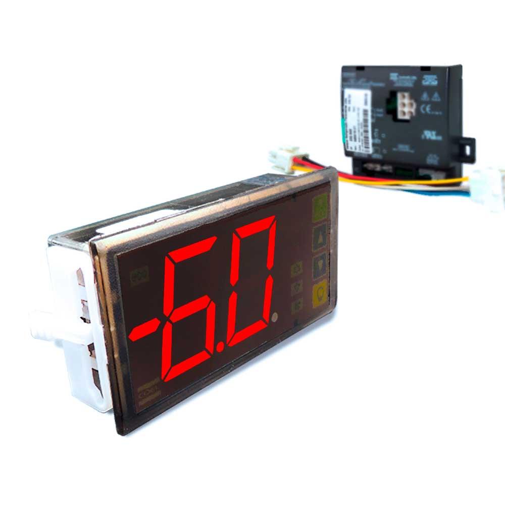 kit Controlador Coel universal para cervejeira com função Eco e Display P03CB BUZZER