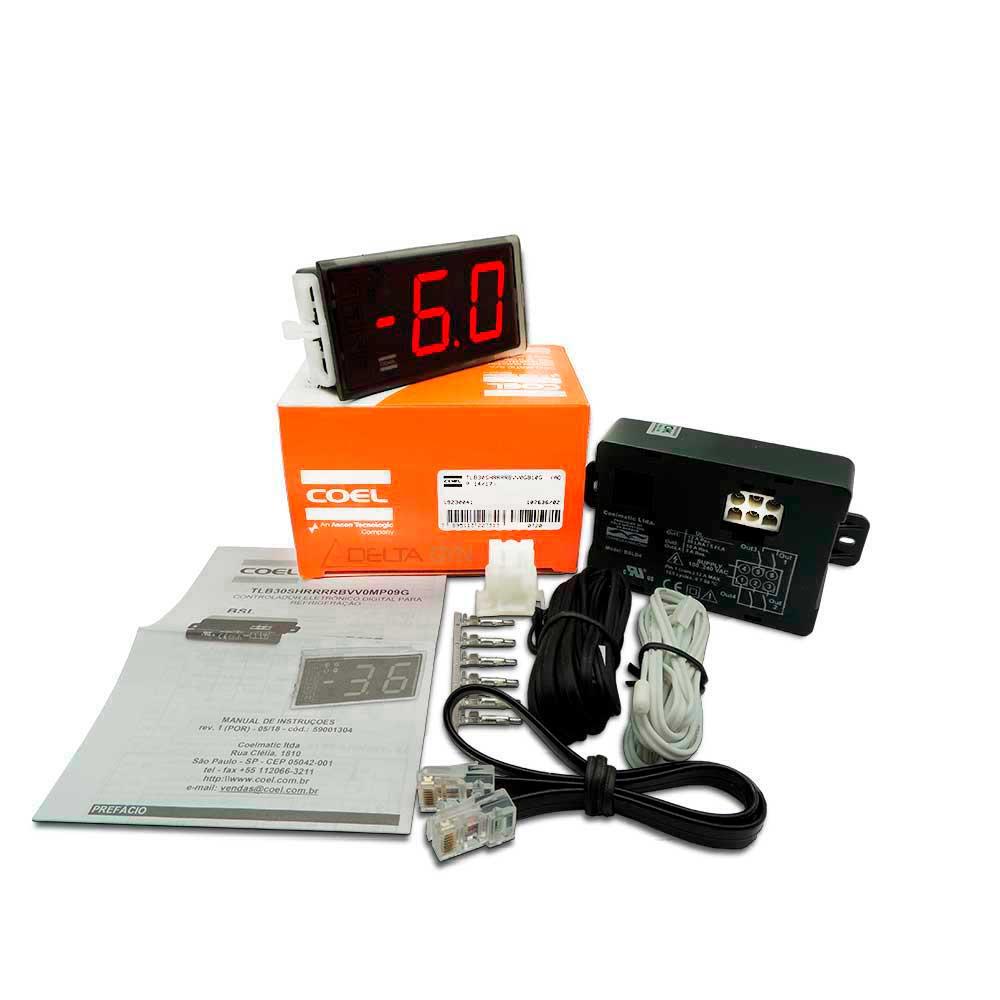 Kit controlador Automático, Interface, painel de controle Digital para cervejeira METALFRIO, GELOPAR, FRICON, HUSSMANN, ESMALTEC Universal TLB30SH4R