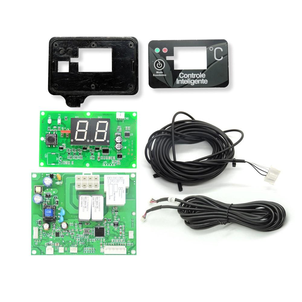 Kit controlador placa termostato digital Geladeira Imbera  3055072 bivolts