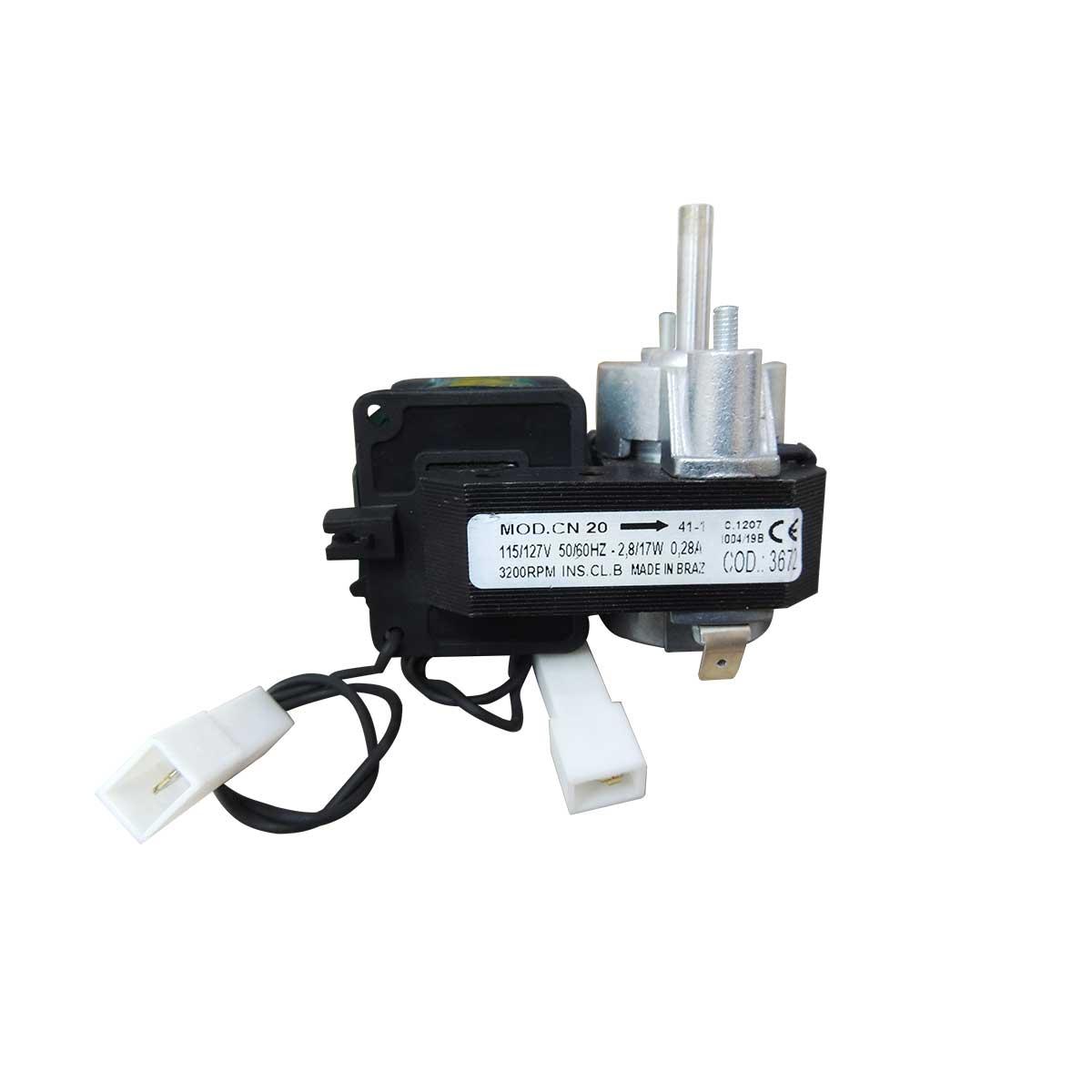 Micro Motor CN 20 VENTIL. 127V sem Hélice 003672
