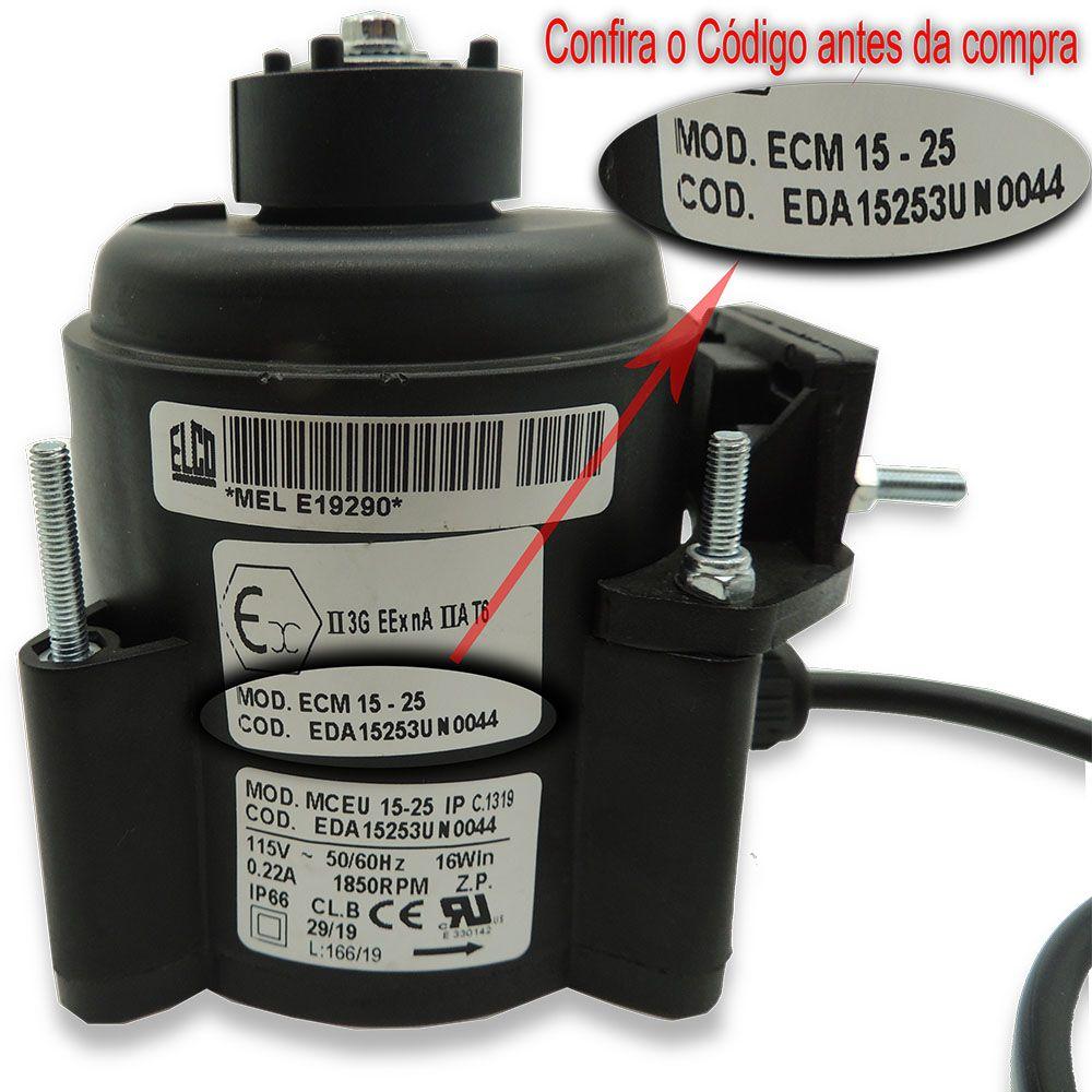 Micro motor Imbera 16W 115V 50/60HZ 1850RPM S/H Original 3049885 ECM 15-25 EDA15253UN0044