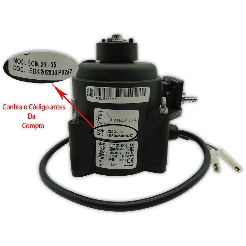 Micro Motor Imbera 1/2HP 115V 50/60HZ 1475RPM Original 3057730  ECM 20-25 EDA20253UP0287