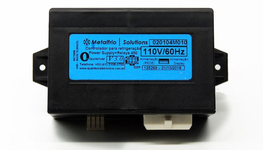 Modulo controlador Quantun para cervejeiras para cervejeira Gelopar e metalfrio 127 volts 020104M010