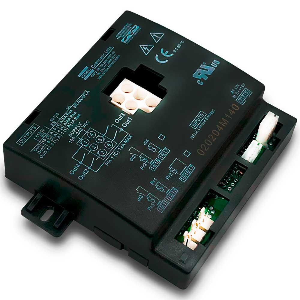 Módulo Transferência Rele Controlador Coel para Cervejeira Metalfrio  VN28, VN25F, VN44R, WR28R VN50MC, WN50R, VN50LP, VN50RC, VN50 E VN44 020204M140 com função Economia (ECO)
