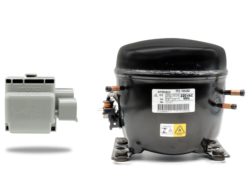 Motor Compressor EMBRACO FFU160UAX 220V 60Hz R290 3035445 020213C011