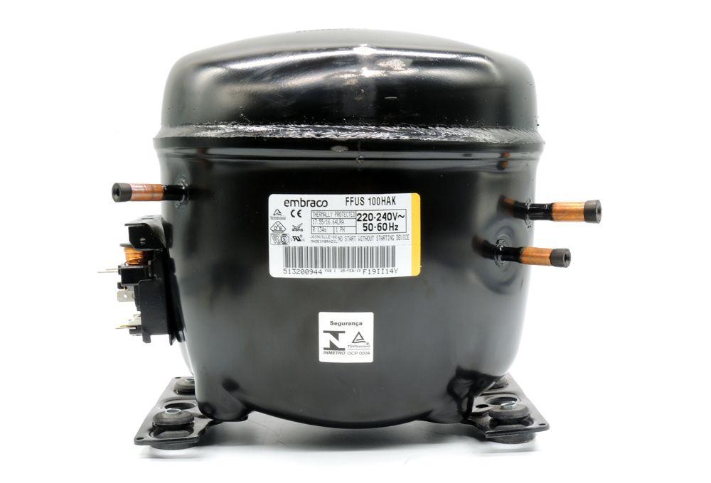 Motor de Geladeira / Compressor Embraco 1/3 FFUS100HAK 220V 020213C087