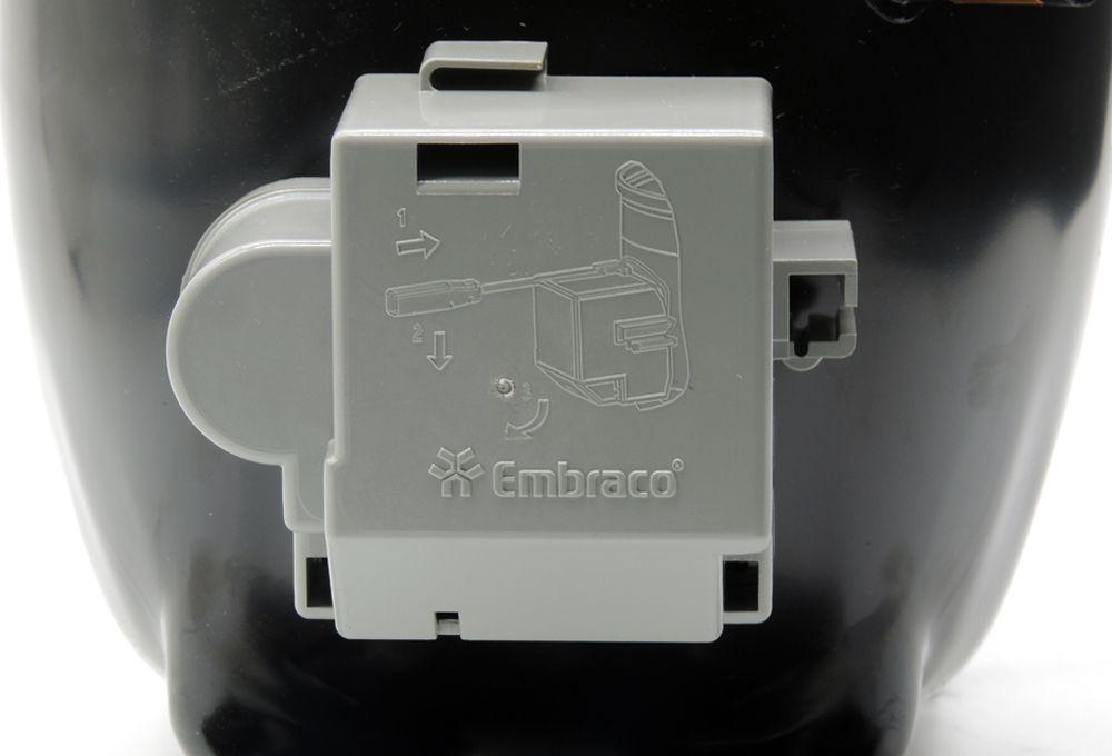 Motor de Geladeira / Compressor Embraco 1/4+ EGAS80 110V GAS R-134a