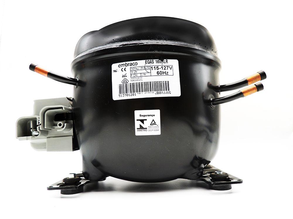 Motor de Geladeira / compressor Embraco EGAS100HLR 127V 020213C018