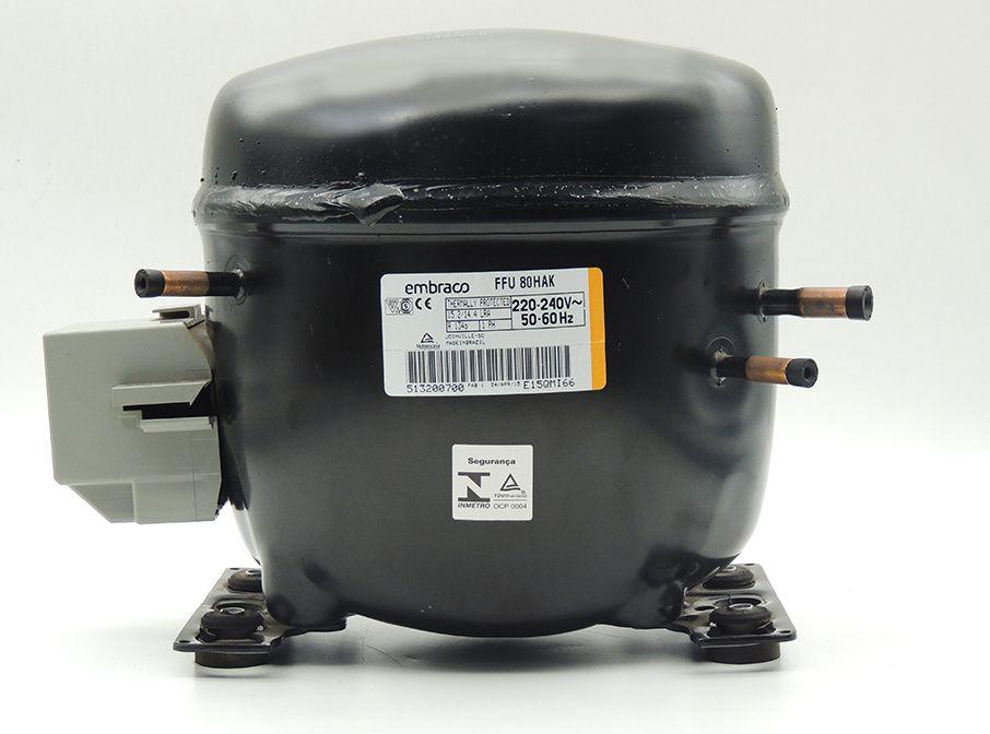 Motor de Geladeira / compressor Embraco FFU80HAK 220V 020213C029