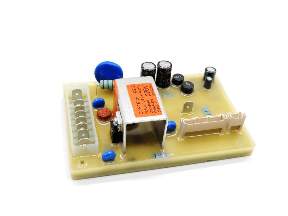 Placa de potencia da lavadora consul CWG11/BWL11/BWC07 W10316678 compativel com W10446295