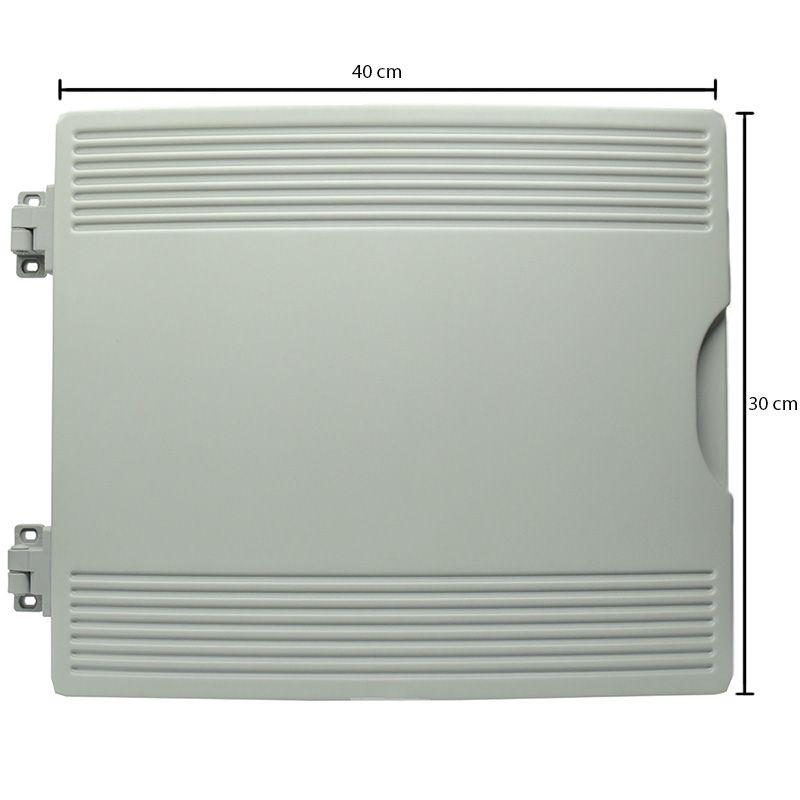 Porta para balcão expositor Gelopar  44X38  direita Cinza c 005821.02