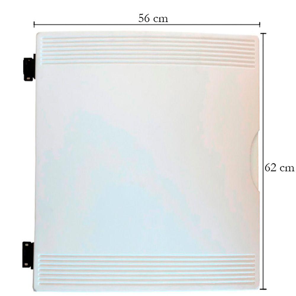 Porta para balcão expositor Gelopar 56 x 62 DIR CLARO 005819.01