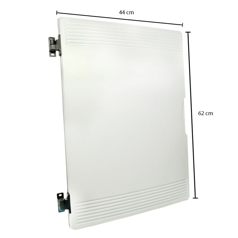 Porta para balcão expositor Gelopar branco medidas 440 x 620mm direita  005817.01